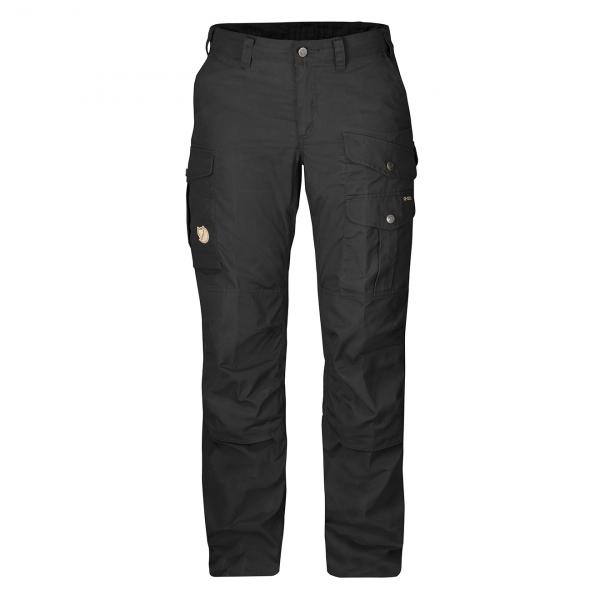 Fjallraven Womens Barents Pro Trousers Black / Black