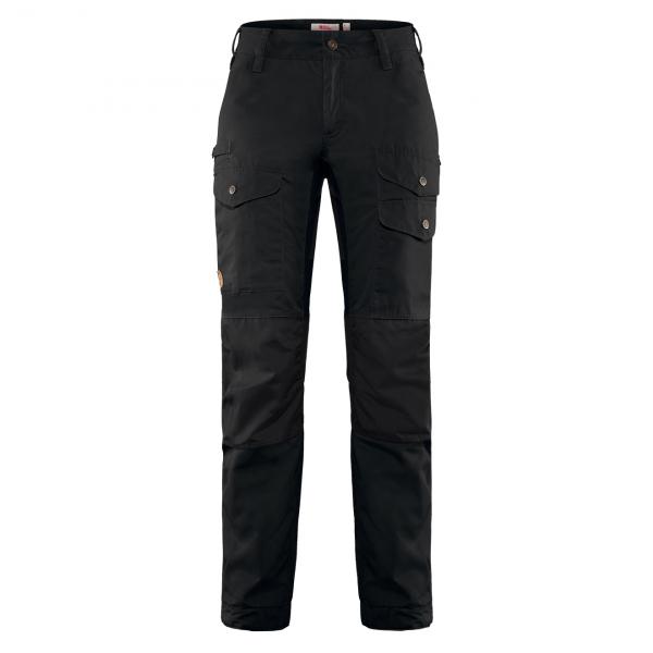 Fjallraven Womens Vidda Pro Ventilated Trousers Short Black