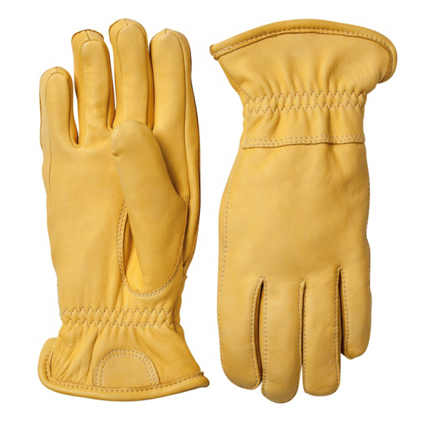 Hestra Deerskin Winter Glove Natural Yellow