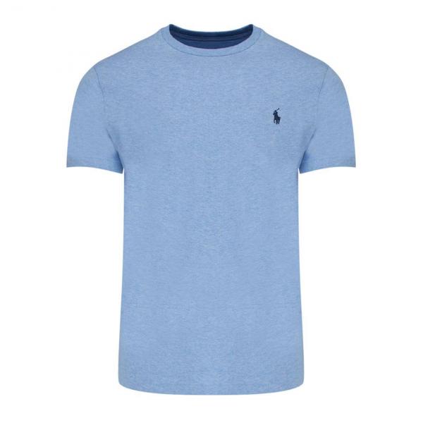Polo Ralph Lauren Custom Slim Crewneck T-Shirt Blue