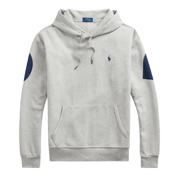 Polo Ralph Lauren Reverse Print Polo Hoodie Andover Heather