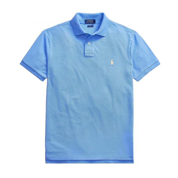 Polo Ralph Lauren Slim Fit Polo Shirt Blue