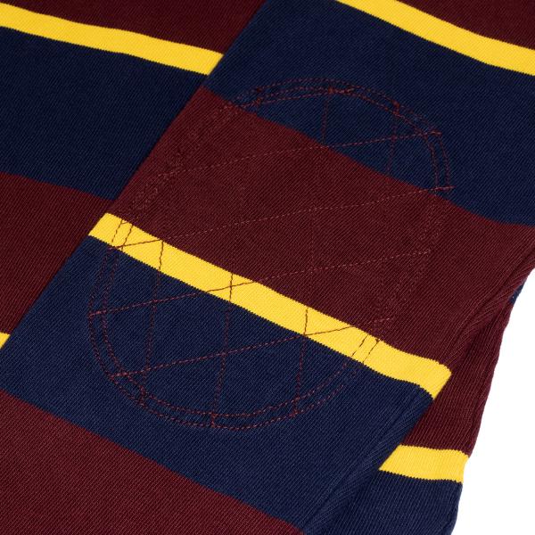 Polo Ralph Lauren Stripe LS Rugby Shirt Navy / Red