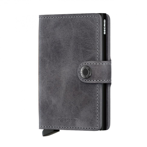 Secrid Miniwallet Vintage Grey / Black