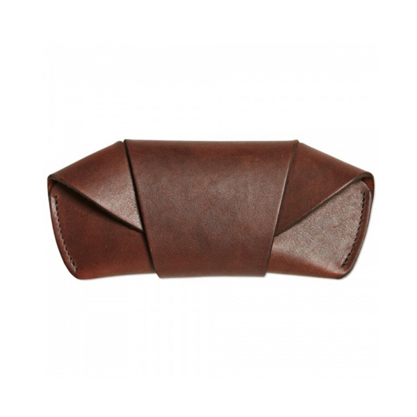 Tanner Goods Sunglasses Case Cognac