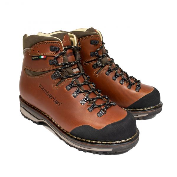 Zamberlan 1025 Tofane Gore-Tex RR Welted Trekking Boots Waxed Brick