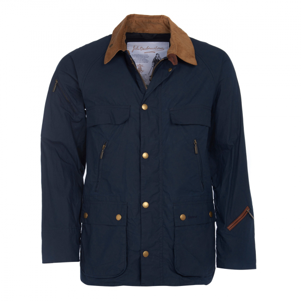 Barbour Bedale Casual Jacket Navy