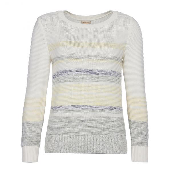 Barbour Womens Littlehampton Knitwear Off White