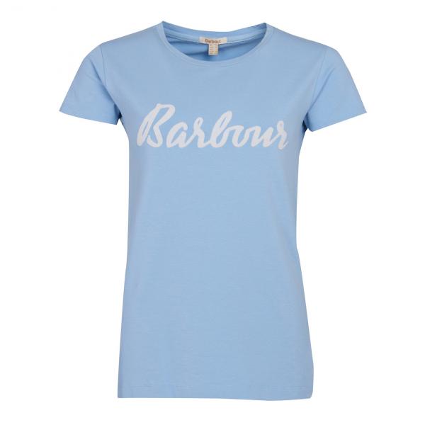 Barbour Womens Rebecca Tee Light Skyline Blue