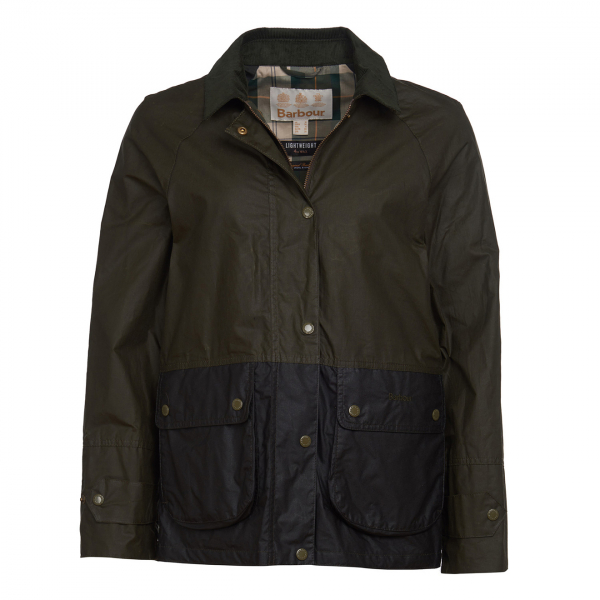 Barbour Womens Robyn Wax Jacket Archive Olive/Sage