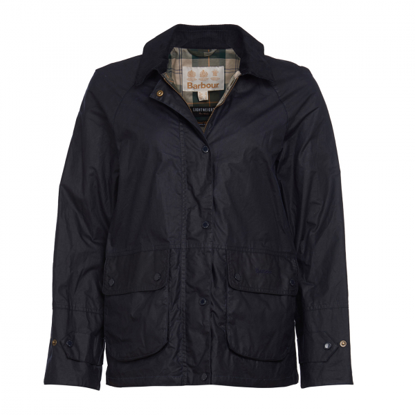 Barbour Womens Robyn Wax Jacket Royal Navy