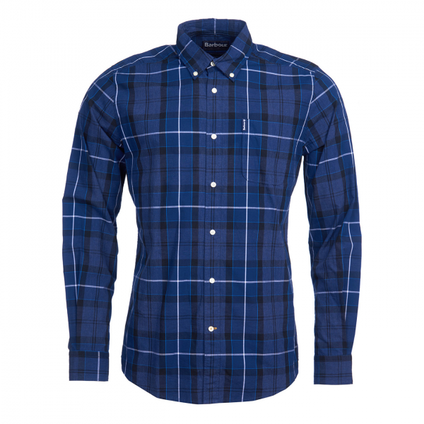 Barbour Sandwood Shirt Inky Blue
