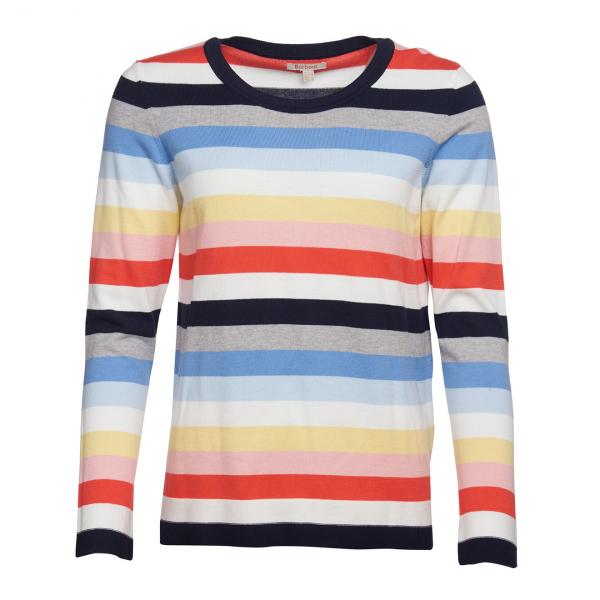 Barbour Womens Seaview Knitwear Mulit Stripe