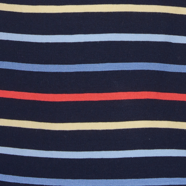 Barbour Womens Seaview Top Navy Stripe