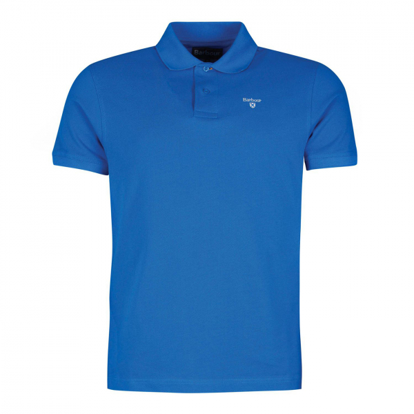 Barbour Sports Polo Sport Blue