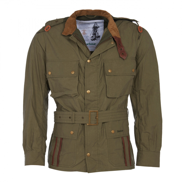 Barbour Ursula Casual Jacket Olive