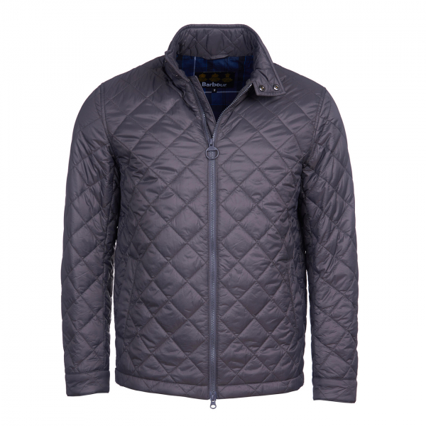 Barbour Woban Quilt Jacket Charcoal