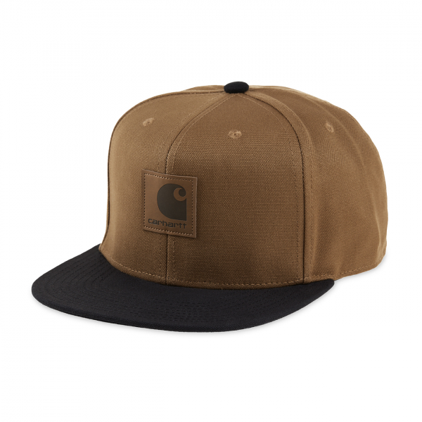 Carhartt Logo Cap Bi-Colour Hamilton Brown/Black