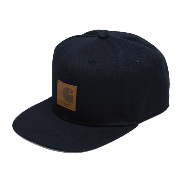 Carhartt Logo Cap Dark Navy