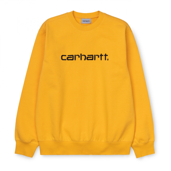 Carhartt Sweatshirt Sunflower/Black