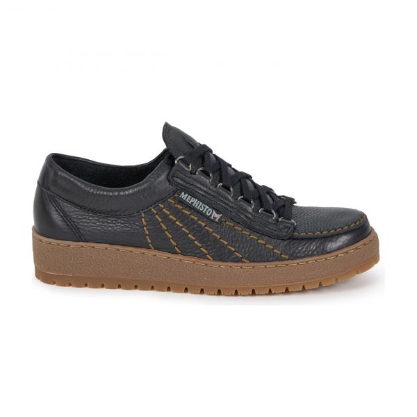 Mephisto Rainbow Shoe Black Leather
