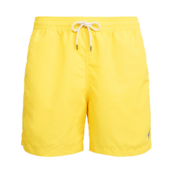 "Polo Ralph Lauren 5"" Traveller Swim Short Sunfish Yellow"