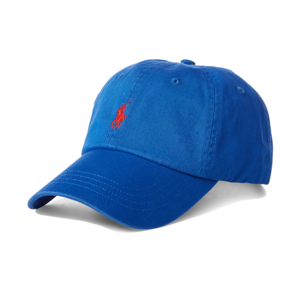 Polo Ralph Lauren Cotton Chino Baseball Cap Blue