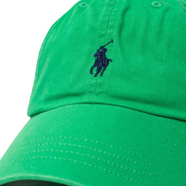 Polo Ralph Lauren Cotton Chino Baseball Cap Golf Green
