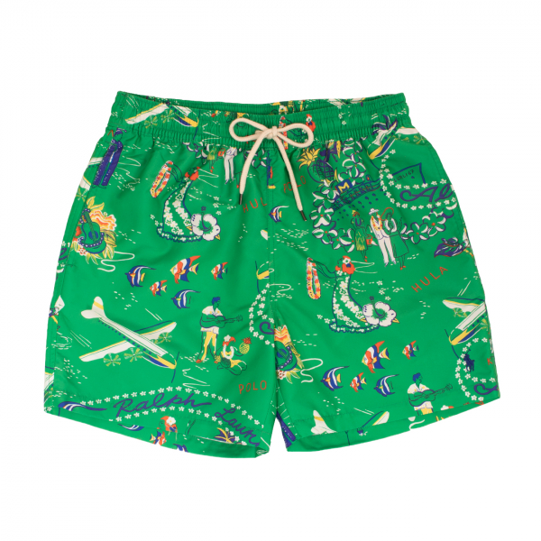 Polo Ralph Lauren Traveller Swim Short Green