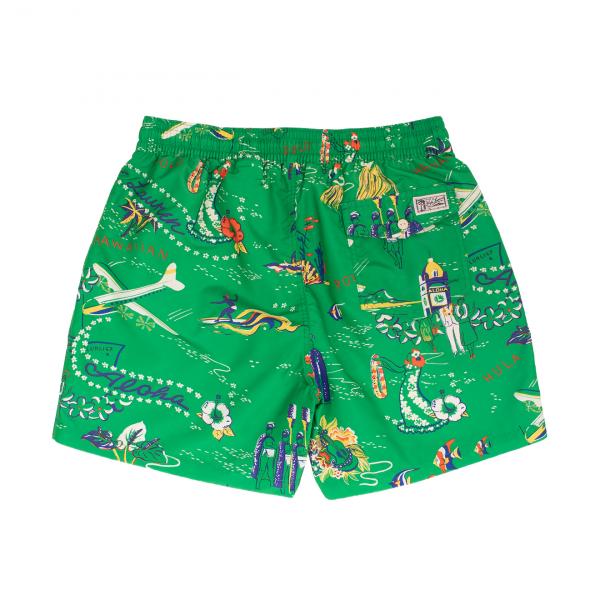 Polo Ralph Lauren Traveller Swim Short Green
