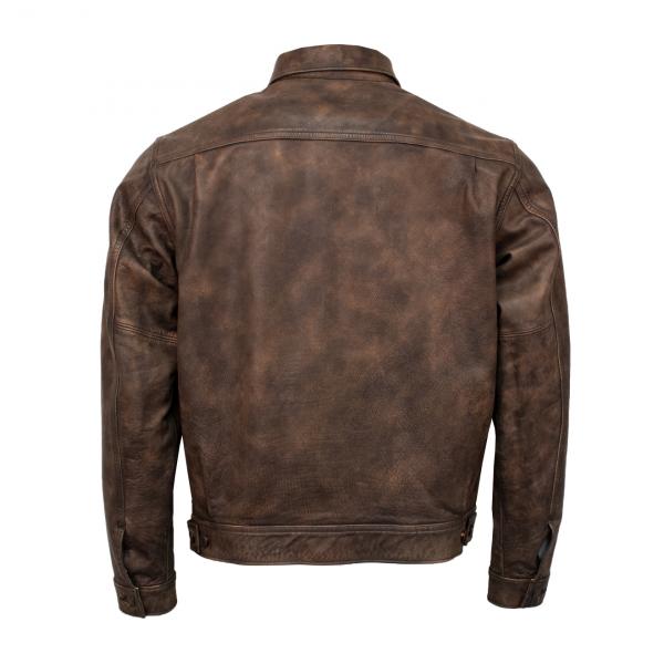 RRL by Ralph Lauren Dawson Leather Jacket Brown