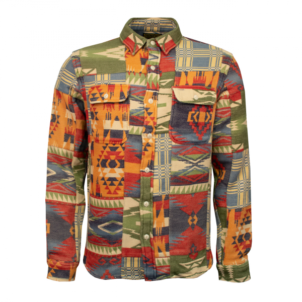 RRL by Ralph Lauren Matlock Limited Edition Workshirt Red Multi
