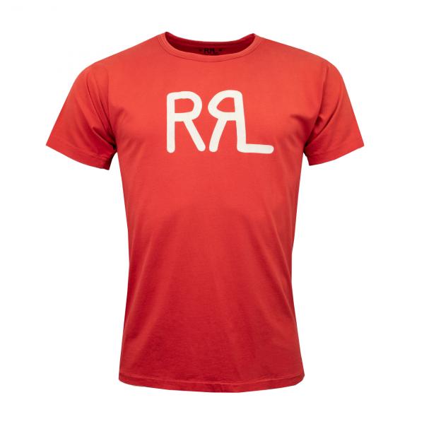 RRL by Ralph Lauren RRL Logo Jersey T-Shirt Red