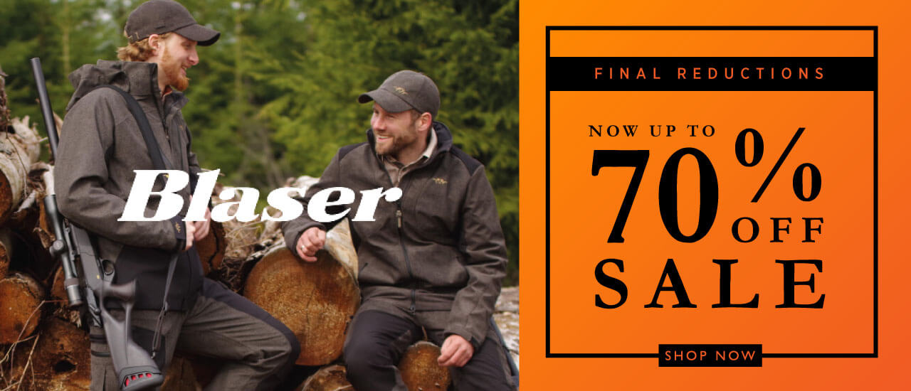 Winter Sale Final Reductions Blaser
