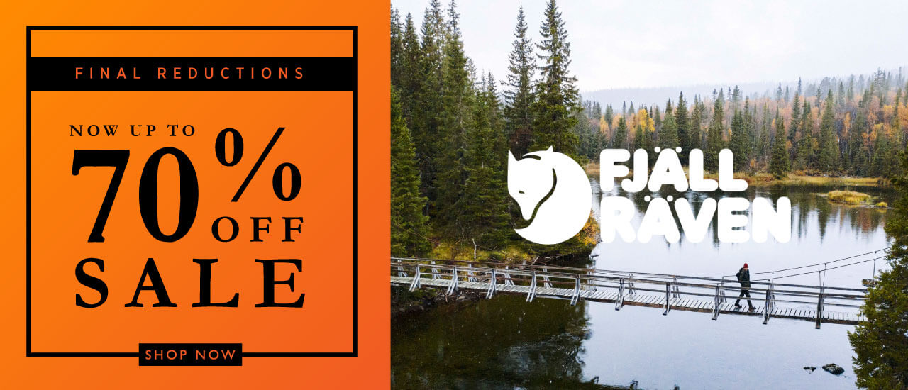 Winter Sale Final Reductions Fjallraven