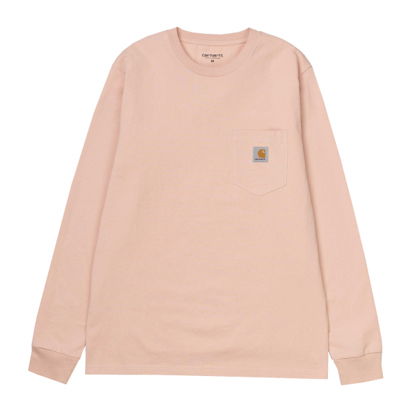 Carhartt Long Sleeved Pocket T-Shirt Powdery