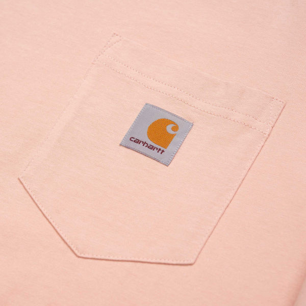 Carhartt Long Sleeved Pocket T-Shirt Powdery