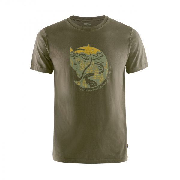 Fjallraven Arctic Fox T-Shirt Dark Olive