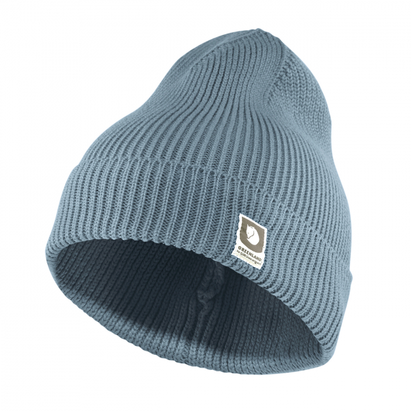 Fjallraven Greenland Cotton Beanie Clay Blue