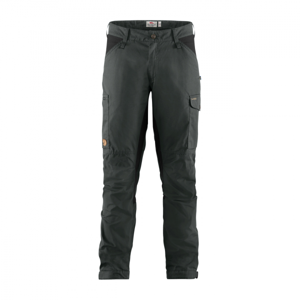 Fjallraven Kaipak Trousers Dark Grey-Black