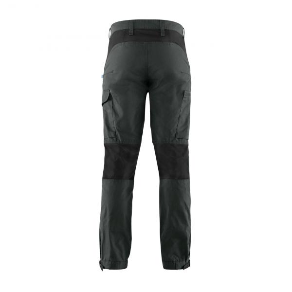 Fjallraven Kaipak Trousers Dark Grey-Black