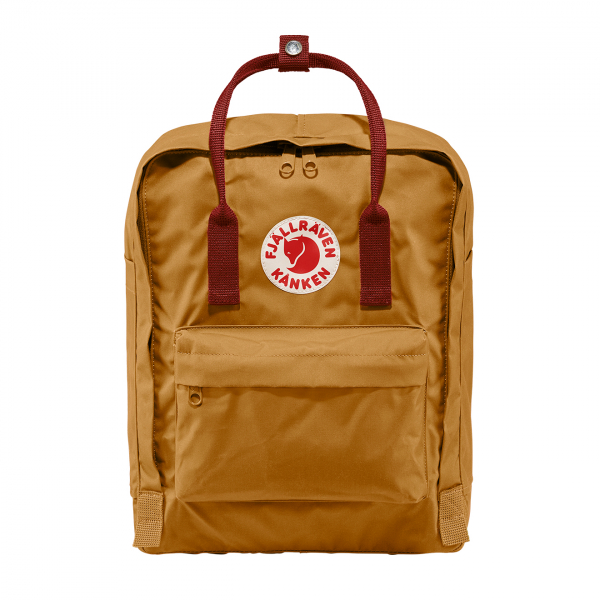 Fjallraven Kanken Classic Backpack Acorn / Ox Red
