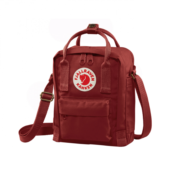 Fjallraven Kanken Sling Cross Body Bag Ox Red