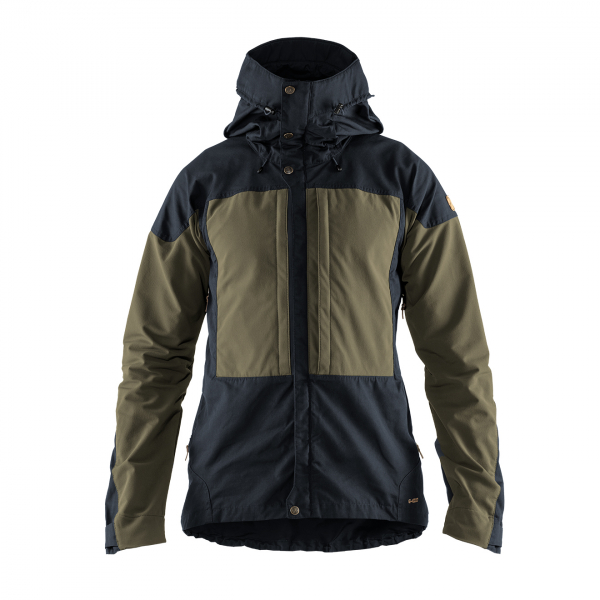Fjallraven Keb Jacket Dark Navy-Light Olive