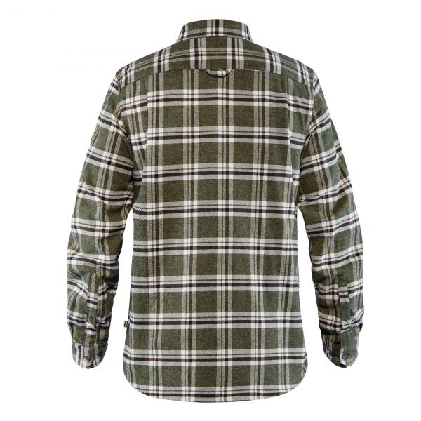 Fjallraven Ovik Heavy Flannel Shirt Deep Forest