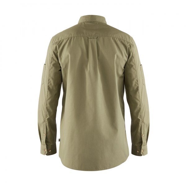 Fjallraven Ovik Shade Pocket Shirt Green
