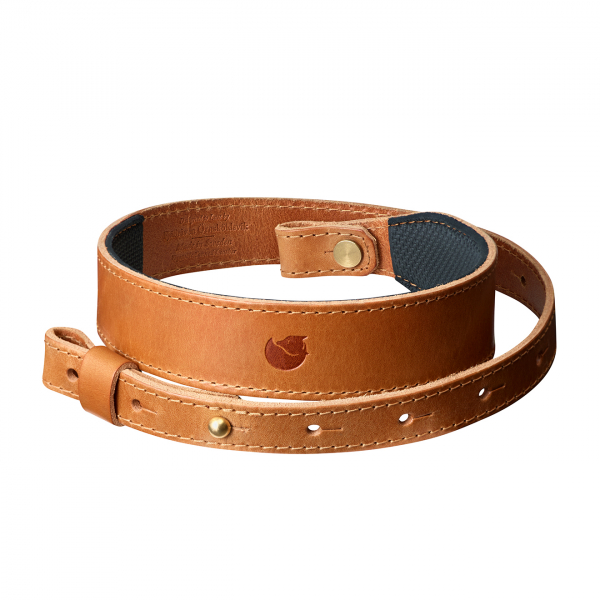 Fjallraven Rifle Leather Strap Leather Cognac
