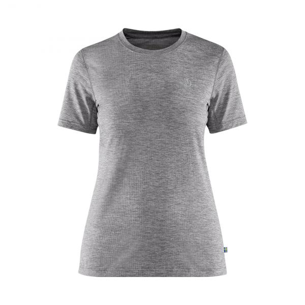 Fjallraven Womens Abisko Day Hike T-Shirt Shark Grey