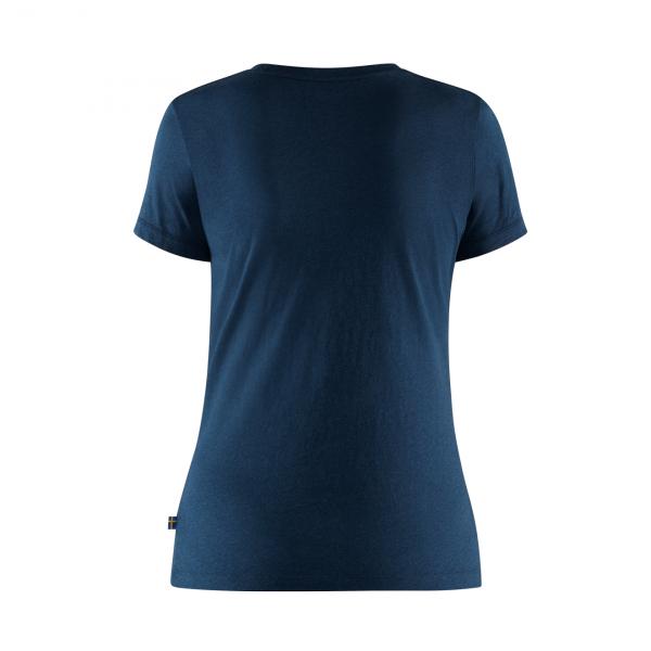 Fjallraven Womens Forever Nature T-Shirt Navy