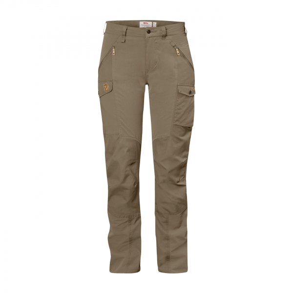 Fjallraven Womens Nikka Curved Trousers Light Olive